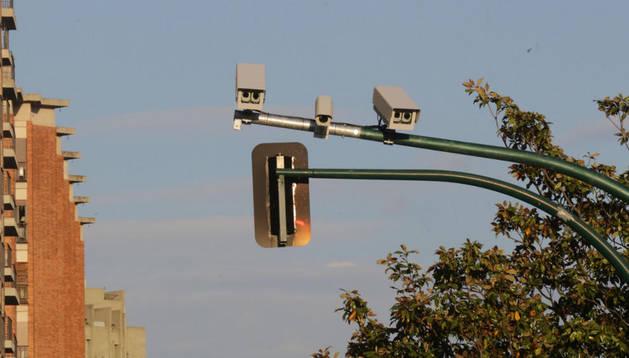Nuevas cámaras foto rojo.