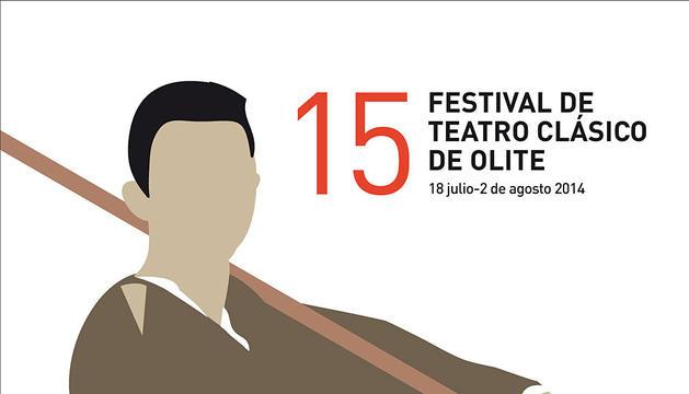 Cartel del Festival de Teatro Clásico de Olite.