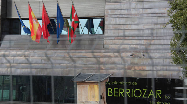 Imagen de archivo de la casa Consistorial de Berriozar.