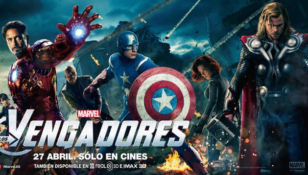 Cartel de 'Los Vengadores'