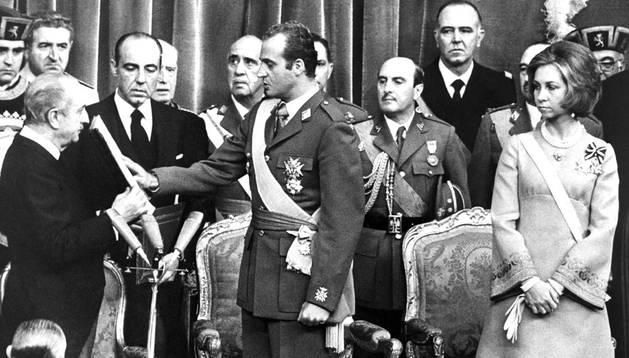 El reinado de Juan Carlos I, en imágenes