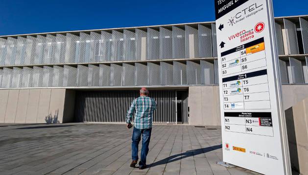 Imagen del centro tecnológico de Estella, donde se enmarca el vivero de empresas