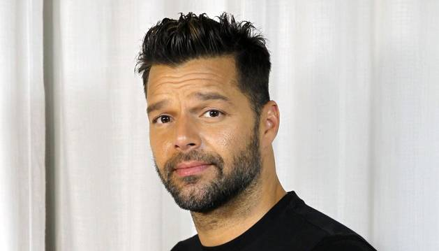 El cantante Ricky Martin