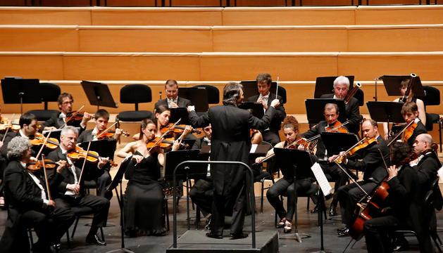 La Orquesta Sinfónica de Navarra