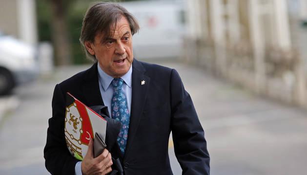 El presidente de Osasuna, Miguel Archanco
