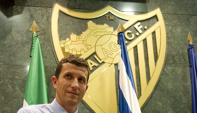Javi Gracia, presentado como nuevo entrenador del Málaga