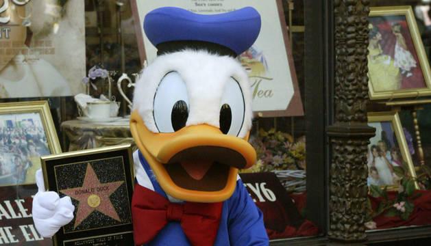 El personaje de Disney, Donald