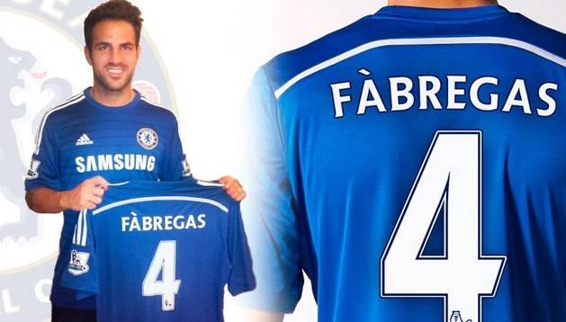 El Barça confirma el traspaso de Cesc Fàbregas al Chelsea