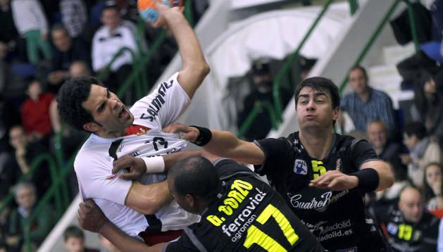 Imagen del último partido entre Anaitasuna y BM Valladolid