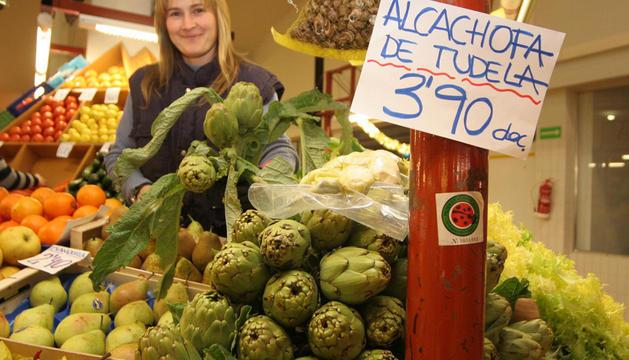 Alcachofas de Tudela en una imagen de 2006
