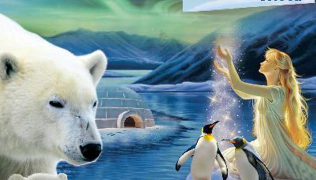 Cartel del espectáculo La danza perdida en el hielo