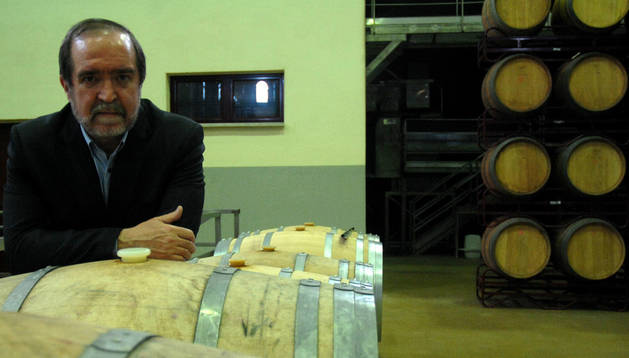 jesús muruzábal lerga autor del libro centenario DE LA BODEGA cooperativa de san martín de unx