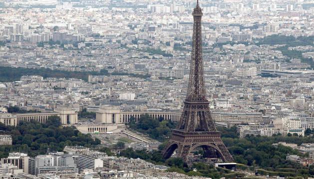 Una vista de la Torre Eiffel
