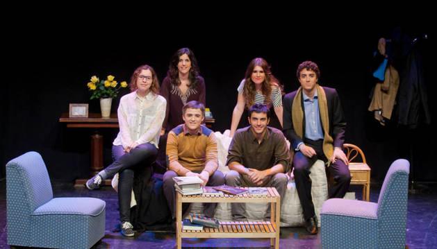 El grupo de teatro pamplonés 'Mutis por el Foro'