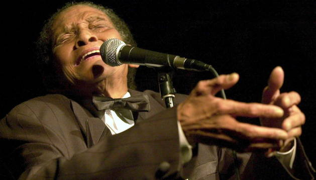 El cantante de jazz, Jimmy Scott