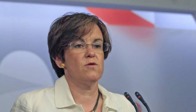 La secretaria de Igualdad del PSOE, Purificación Causapié