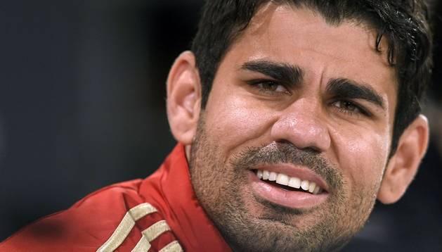 El jugador de España, Diego Costa