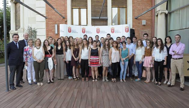 La nuevos médicos residentes de Navarra