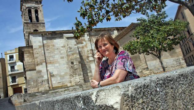 Milagros Rubio Salvatierra, concejala de Izquierda-Ezkerra en el Ayuntamiento de Tudela