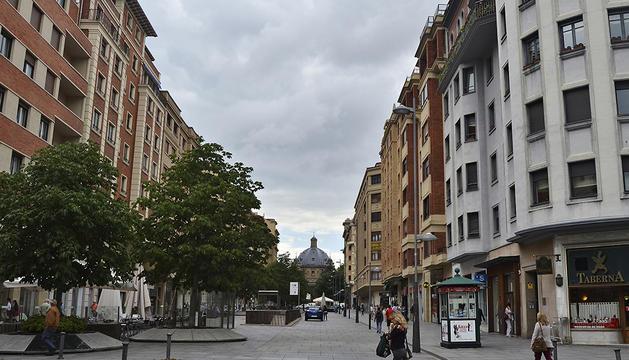 Avenida Carlos III de Pamplona