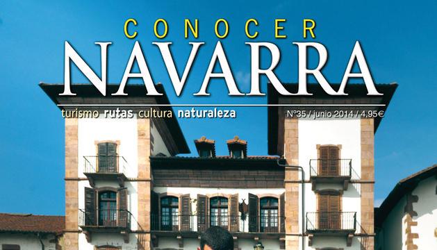 Portada de junio de la revista 'Conocer Navarra'