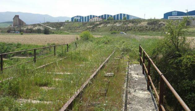 Vista de la zona donde se instalarán las huertas sociales y ecológicas