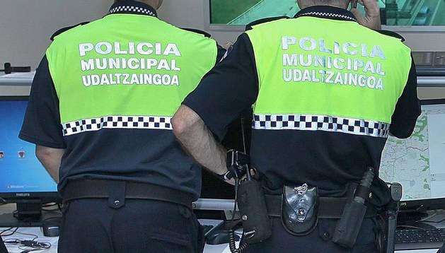 Agentes de Policía Municipal, en una imagen de archivo