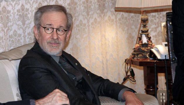 El productor y director de cine, Steven Spielberg