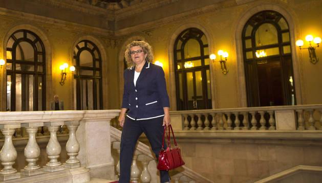La diputada del PSC Marina Geli, que pertenece a la corriente crítica de los socialistas catalanes.