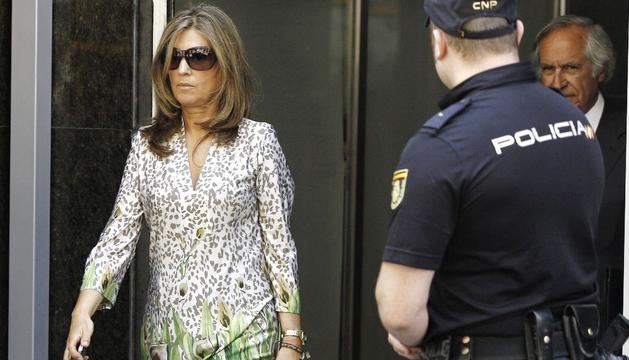 Rosalia Iglesias, mujer del extesorero del PP Luis Bárcenas, en una imagen de 2013