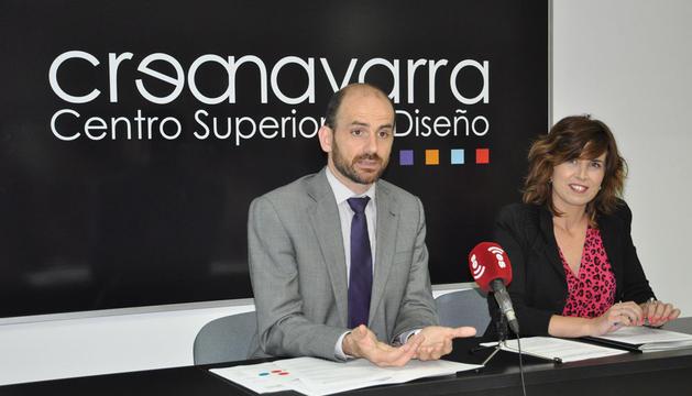 Cernin Martínez y Eva Beperet