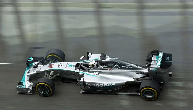 Lewis Hamilton, en el circuito austriaco.