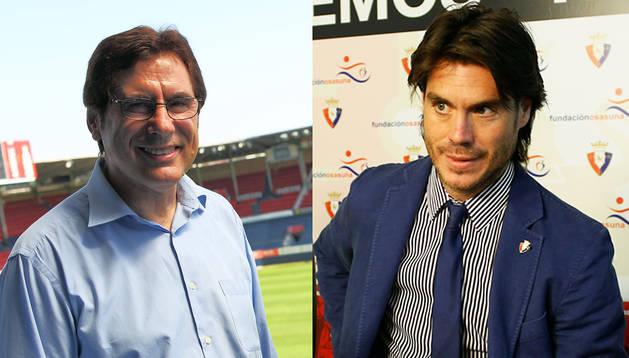 Javier Zabaleta y Diego Maquírriain, los dos candidatos