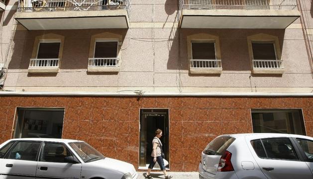 La vivienda donde estuvo encerrada la chica, en Elche