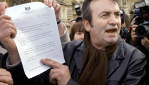 Gerry Conlon, peleando por limpiar el nombre de su padre