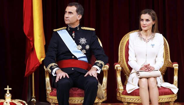 Los nuevos reyes de España