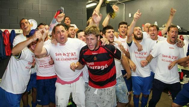 El Llagostera consigue un histórico ascenso a Segunda División