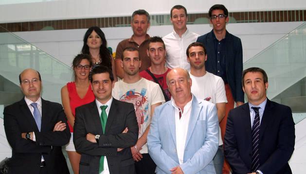 Participantes en el programa Ideación durante la jornada celebrada en CEIN.
