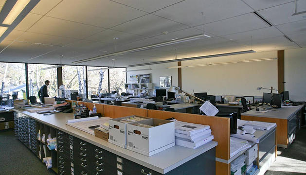 Una oficina.