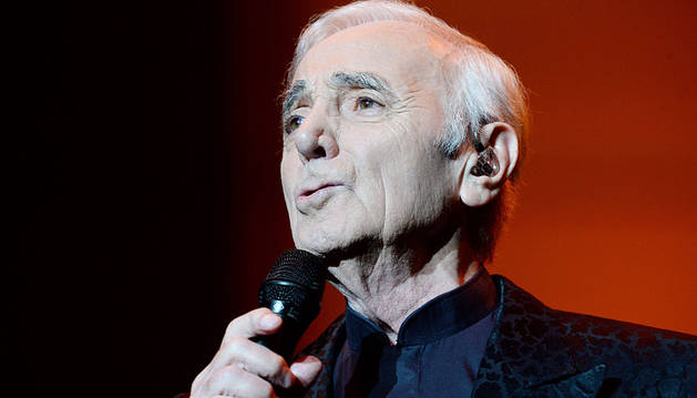 Charles Aznavour, en Varsovia.