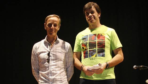 José Ignacio Gómez Arrate y Armando Ruiz Chocarro (dcha.)