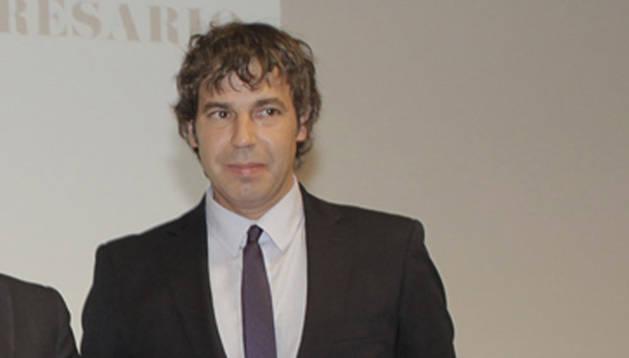 Javier Ona, presidente de AJE Navarra
