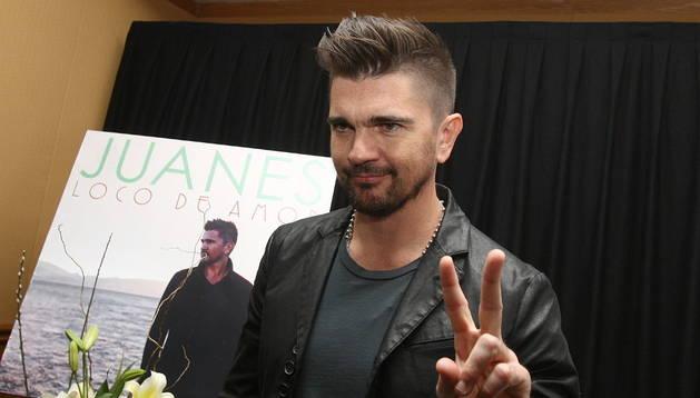 El cantante y compositor, Juanes