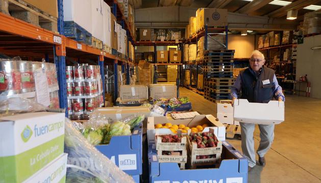 El Banco de alimentos figura entre las que se va a subvencionar.