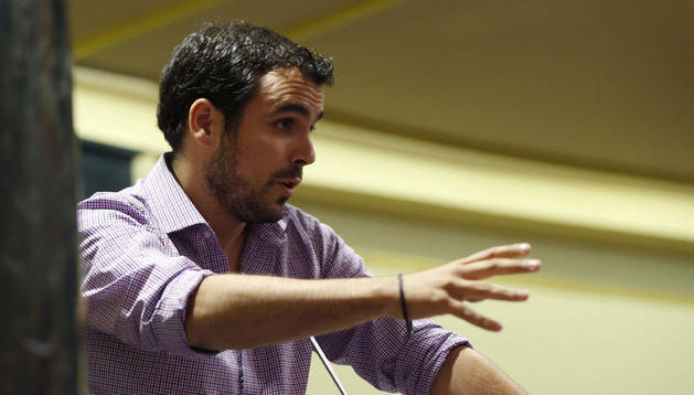 El diputado por Irquierda Unida, Alberto Garzón