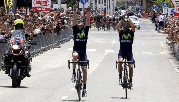 Izaguirre y Valverde entran en meta