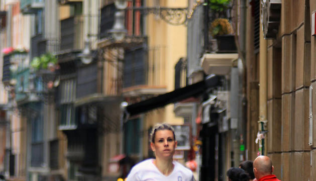 Ana Gayarre, de Fustiñana, se ha impuesto en categoría femenina