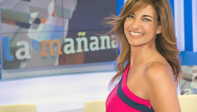 Fotografía facilitada por RTVE de la presentadora Mariló Montero