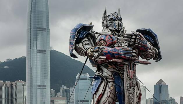 Premiere de 'Transformers. La edad de la extinción' en Hong Kong