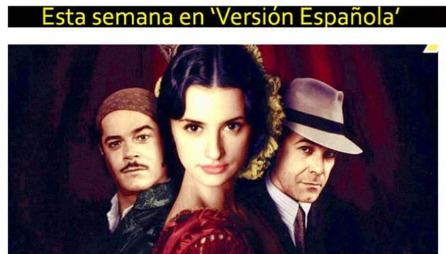 Captura de la página web de 'Versión española'
